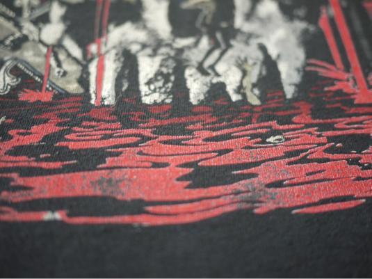 SLAYER vintage 1988 tour t-shirt