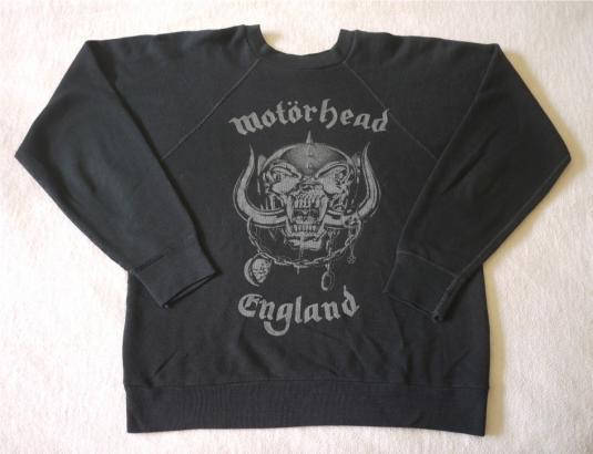 MOTORHEAD Vintage 1980s Sweatshirt