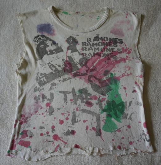 RAMONES Vintage 1977 T-Shirt