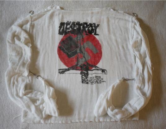 DESTROY Vintage 1980 Bondage Shirt