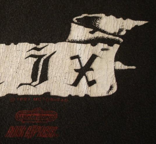 MOTORHEAD vintage 1991 US tour t-shirt