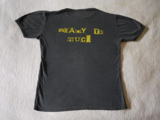 COCKNEY REJECTS Vintage 1979 T-Shirt