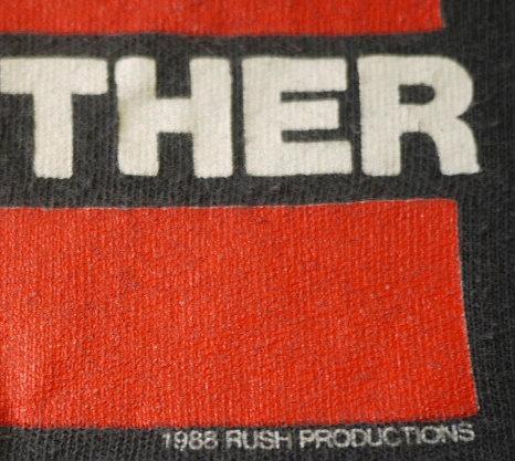 RUN DMC vintage 1988 US tour t-shirt