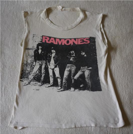 RAMONES Vintage 1970s T-Shirt