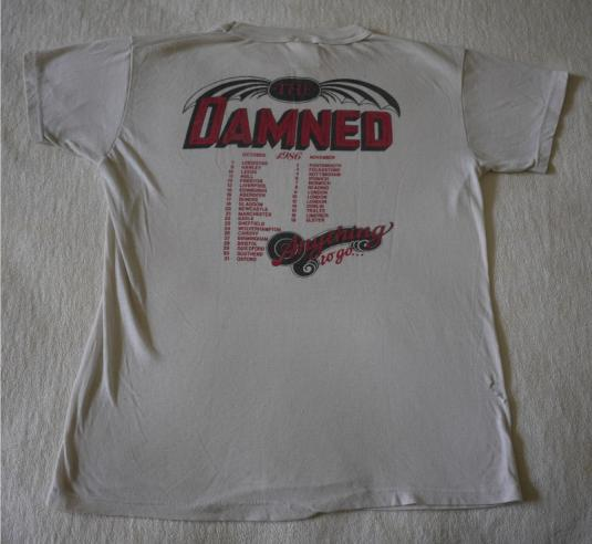 THE DAMNED Vintage 1986 T-Shirt