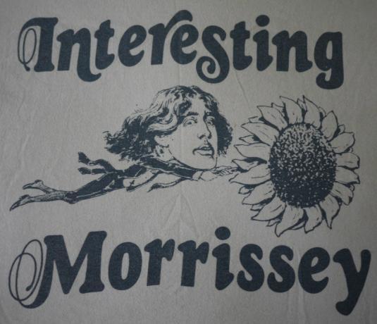 MORRISSEY vintage 1989 t-shirt