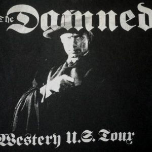THE DAMNED vintage 1988 US tour t-shirt
