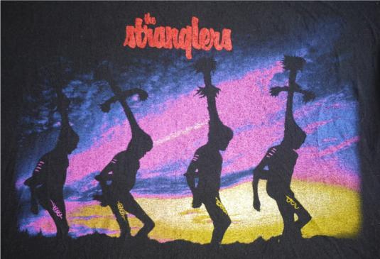 THE STRANGLERS Vintage 1987 T-Shirt