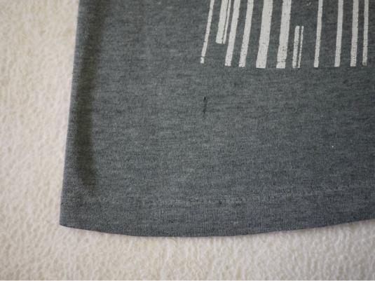 STIFF LITTLE FINGERS vintage 1980 UK tour t-shirt