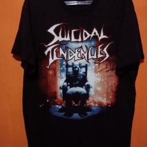 Suicidal Tendencies 1990 Can't Bring Me Down Vintage T Shirt