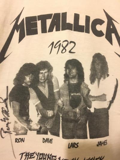"METALLICA ""YOUNG METAL ATTACK'"