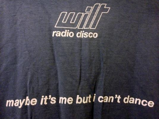 Rare WILT (Ireland) band T-shirt – circa 1998/99