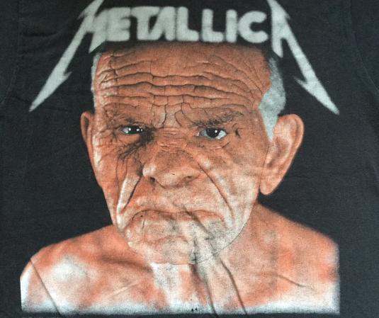 Metallica 91/92 Off To Never Never Land Tour T-shirt