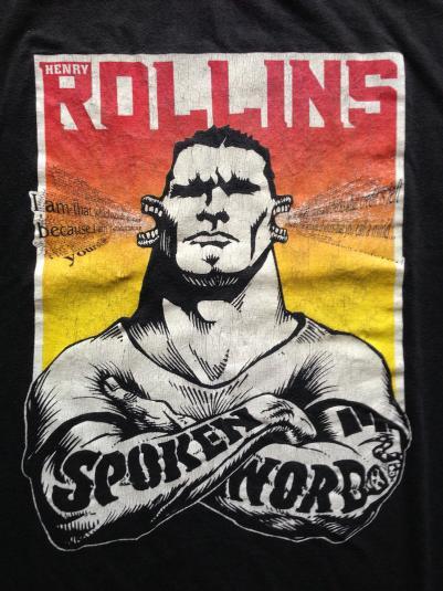 Henry Rollins – Vintage 1998 Think Tank Tour T-shirt