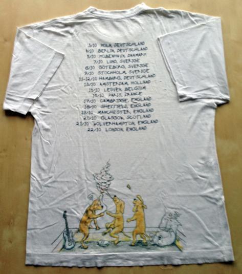 Green Day – Vintage 1994 European Tour T-shirt