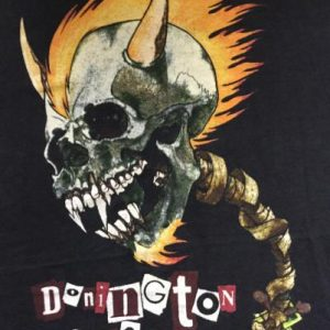 Donington 1995 Festival T-shirt - Metallica, Therapy? etc