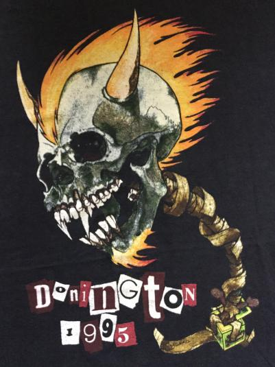 Donington 1995 Festival T-shirt – Metallica, Therapy? etc