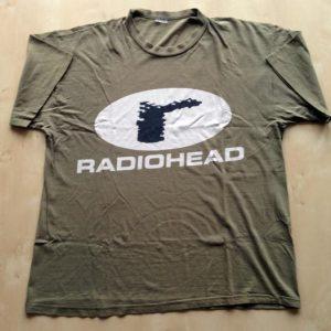 Radiohead - Vintage 1997 Logo T-shirt