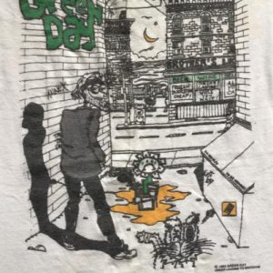 Green Day 90s Alleyway T-shirt