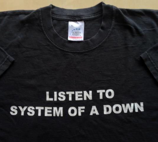 System of a Down – 1998 Vintage T-shirt