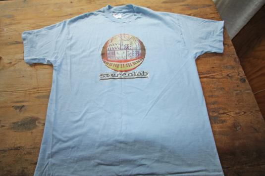 Vintage Stereolab t-shirt, a rare find!