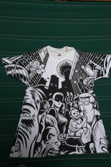 Rare Iggy Pop Brick By Brick vintage promo t-shirt