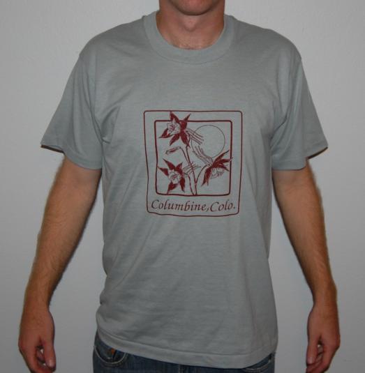 Columbine Colorado vintage t-shirt Large