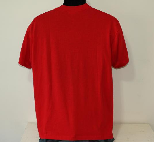 Legal Sea Foods Boston Massachusetts vintage red t-shirt L