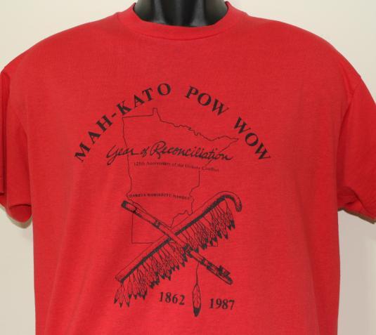 1987 Dakota Conflict anniversary vintage t-shirt XL