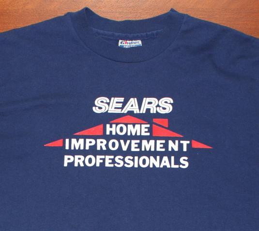 Sears Home Improvement Professionals vintage t-shirt L