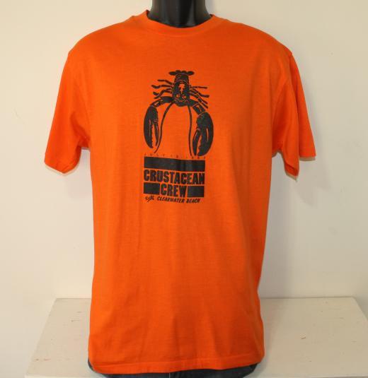 Crustacean Crew Clearwater Beach vintage t-shirt Large