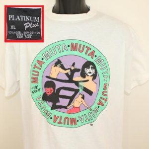 The Great Muta Keiji Mutoh WCW vtg tee L/XL white 90s