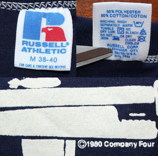 Hill Street Blues 1989 vintage navy blue t-shirt S/M