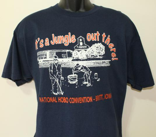 WTF National Hobo Convention t-shirt XL/Large