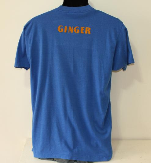 Perry Moose Lodge Ginger vintage blue Screen Stars t-shirt M
