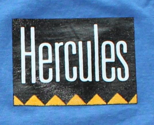 Hercules vintage blue Screen Stars t-shirt M/L