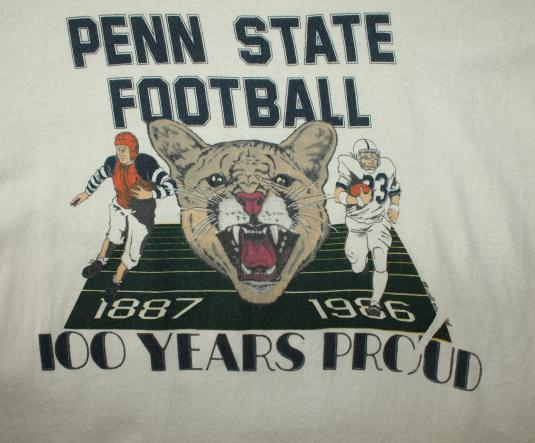 Penn State Nittany Lion football vintage t-shirt Small