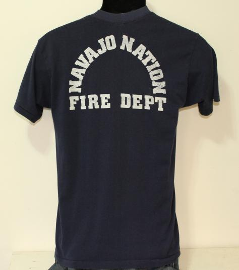 Navajo Nation Fire Department vintage t-shirt Small/Medium