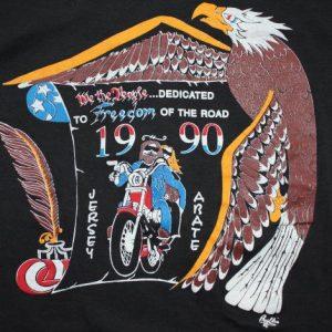 Jersey ABATE Motorcycle Alliance 1990 sleeveless tee L/M