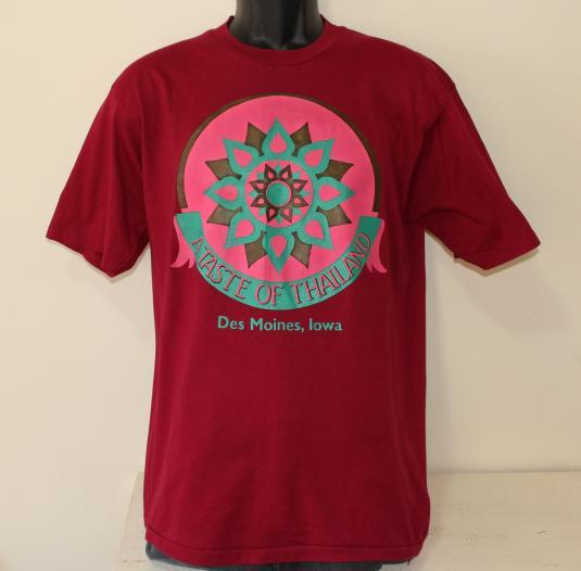 Taste of Thailand Des Moines Iowa vintage t-shirt M/L