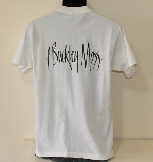 P Buckley Moss vintage white Screen Stars t-shirt M/L