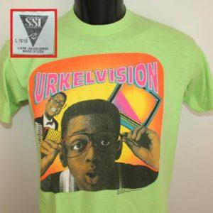 Steve Urkel Family Matters Urkelvision vtg youth tee L 16-18
