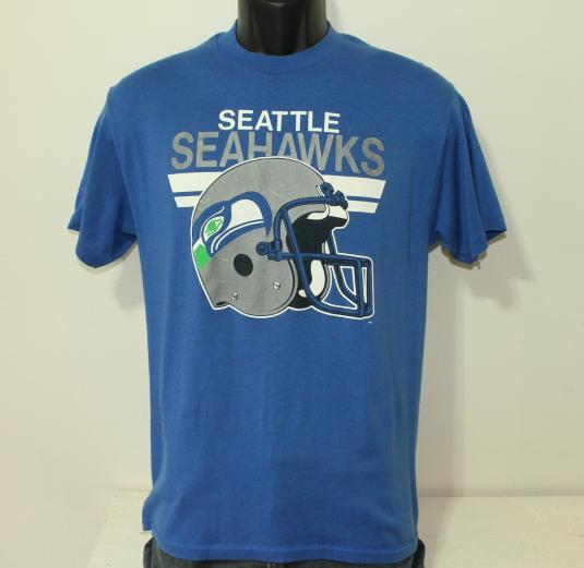 Seattle Seahawks NFL vintage blue t-shirt Medium