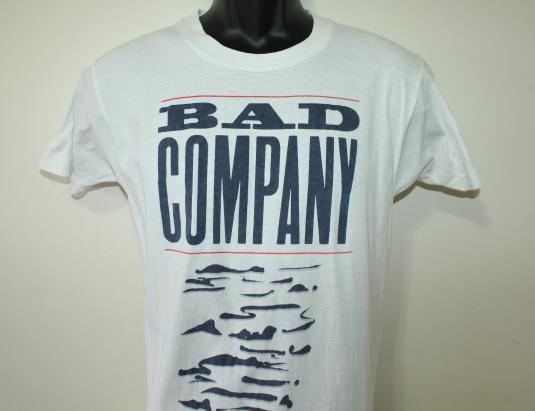 Bad Company band Holy Water vintage 90s 1991 t-shirt S/M