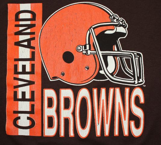 Cleveland Browns vintage Garan t-shirt Large/Medium