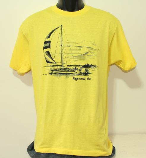 Nags Head North Carolina 1986 vintage t-shirt L/M