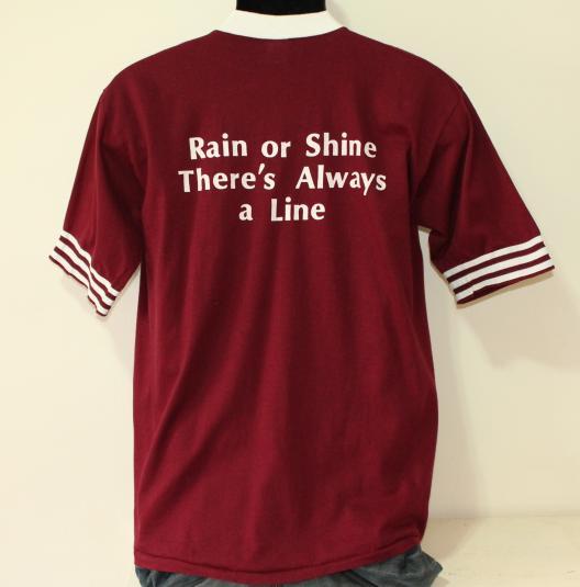Little Joe's San Francisco vintage maroon t-shirt Large/Med