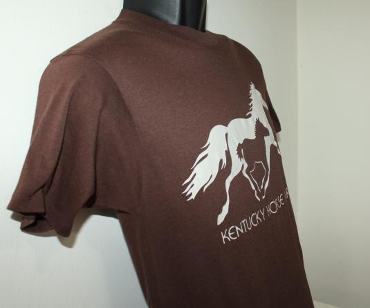 Kentucky Horse Park Lexington vintage 80s Hanes t-shirt XS/S