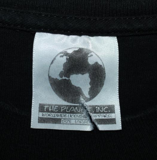 Melissa Etheridge On Tour vintage 1990s black t-shirt Large