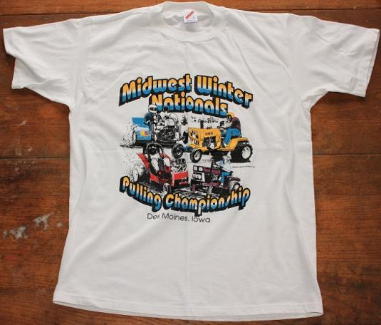 Tractor Pulling Championship vintage t-shirt L/M